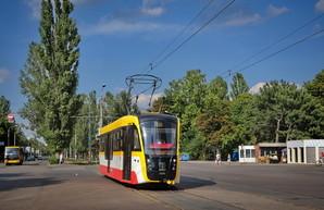 На день города в Одессе представят новый трёхсекционный трамвай
