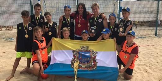 Юные гандболисты Одесчины стали чемпионами Украины