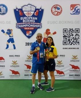 Одесситка завоевала бронзу на чемпионате Европы по боксу