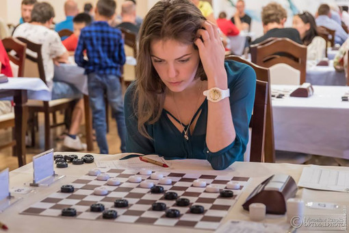 Одесситка заняла второе место на этапе Кубка мира по шашкам