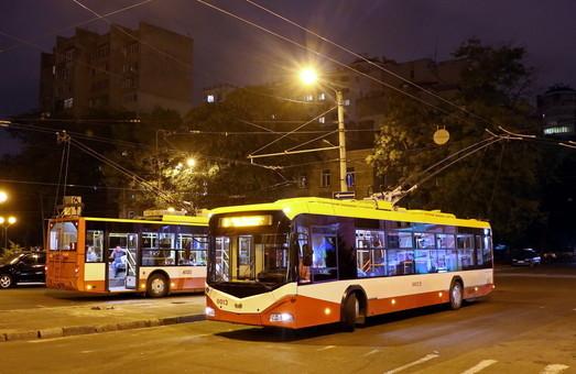 В День города работа трамваев и троллейбусов в Одессе будет продлена