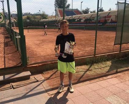 Одесский школьник стал первой ракеткой Украины