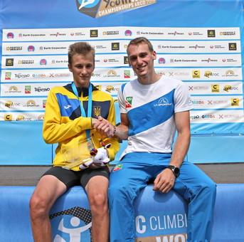 Одессит победил на Чемпионате мира по скалолазанию