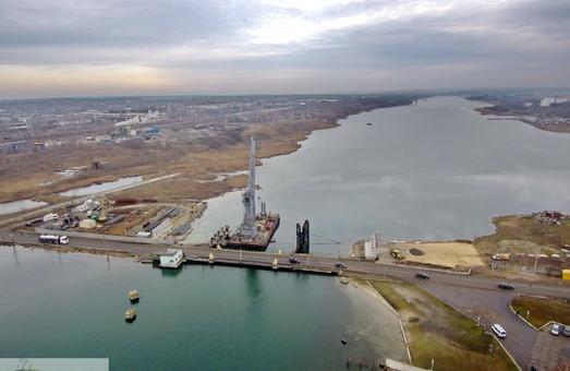 Понтонную переправу на автотрассе Одесса – Черноморск перекроют на два месяца