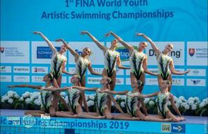 Одесситка завоевала серебряную медаль на чемпионате мира по синхронному плаванию