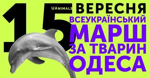 Одесские зоозащитники организуют марш в поддержку прав животных