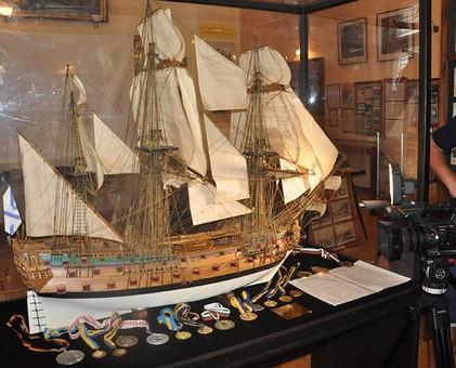 В Музее Одесского морского порта открылась новая выставка