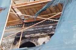 В Одессе загорелся памятник архитектуры