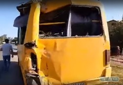 Под Одессой произошло ДТП с участием двух автобусов: есть пострадавшие