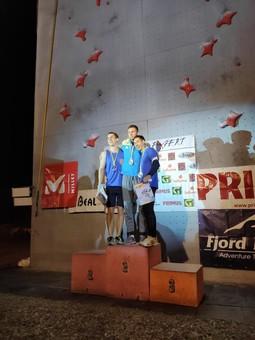 Одесские скалолазы успешно выступили на Чемпионате Украины
