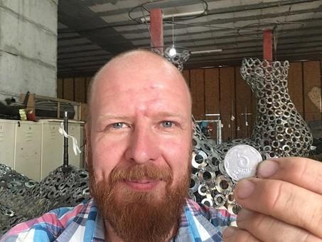 В Одессе может появиться скульптура из монет