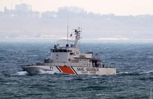 В Одессу зашёл корабль береговой охраны Турции
