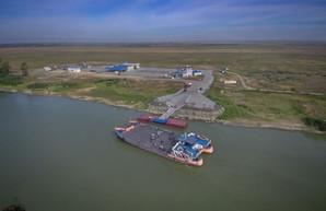 В Одесской области начались испытания паромной переправы через Дунай