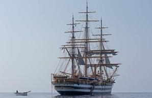Одесские кадеты прошли практику на корабле ВМС Италии