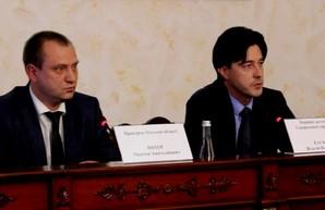 Первый зам генпрокурора Украины представил в Одессе нового главу областной прокуратуры