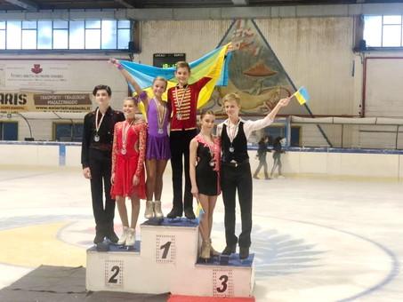 Соревнования по фигурному катанию в Италии закончились победой одесситов