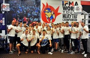 4 медали привезли спортсмены Одесчины с чемпионата мира по таиландскому боксу