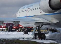 В Одесском аэропорту спасатели «тушили пожар» (фото)