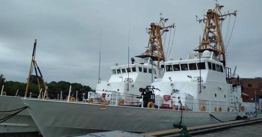 Американские патрульные катера Island направляются в Одессу