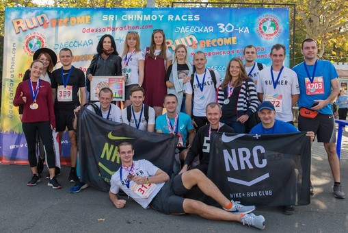 В воскресенье на одесской Трассе здоровья соревновались бегуны