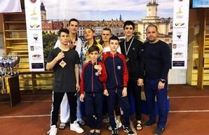 Восемь спортсменов Одесчины стали медалистами Кубка Украины по тхэквондо