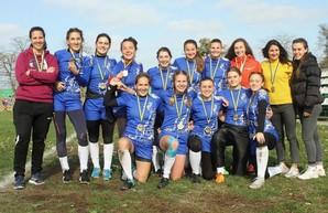 Женская сборная Одессы завоевала титул чемпиона Украины по регби
