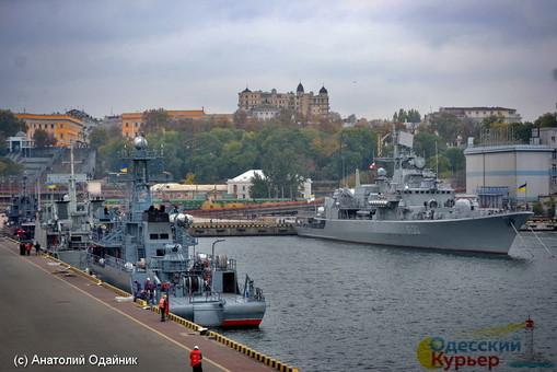 В Одесский порт вошла эскадра НАТО