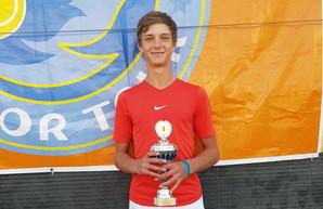 Теннисист из Одесской области победил на международном турнире