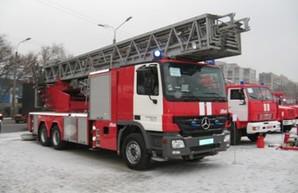 В Одесской области пожарные тушили школу