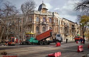 Ремонт улицы Софиевской в Одессе близится к завершению