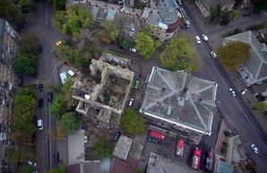 Как сегодня выглядят развалины одесского «Масонского дома»