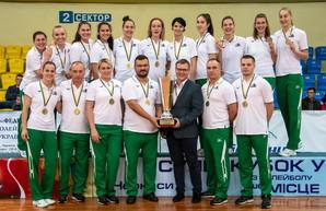 Волейболистки из Одесской области завоевали Суперкубок Украины
