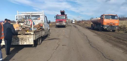 В Одесской области стартовал ремонт трассы Р-33