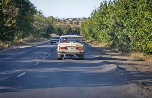 В Овидиопольском районе начат ремонт трассы Одесса - Белгород-Днестровский