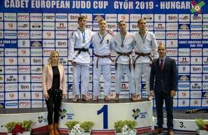Дзюдоисты Одесской области завоевали медали Кубка Европы