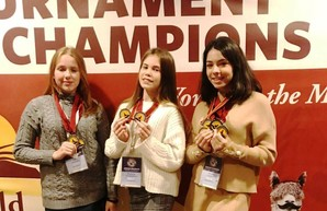 Одесские школьницы стали победительницами международной интеллектуальной олимпиады