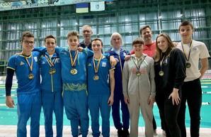 Одесские пловцы стали медалистами Чемпионата Украины