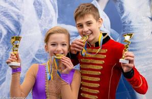 Одесские фигуристы победили на чемпионате Украины