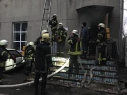 В Одессе горело профтехучилище