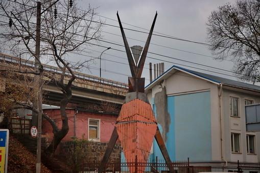 В Одессе установили славянскую версию американского Burning Man