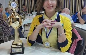 Одесситка завоевала победу на двух турнирах чемпионата Европы по шашкам