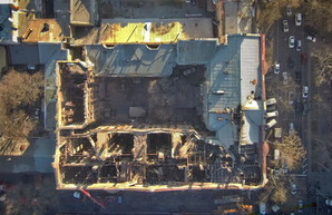 Число погибших в результате пожара в Одессе увеличилось
