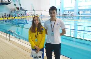 Одесситы завоевали шесть медалей на чемпионате Украины по плаванию