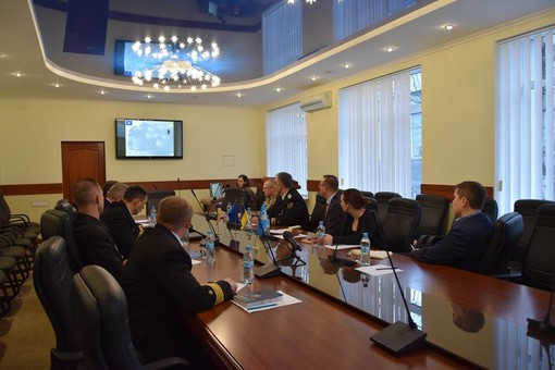 Делегация Североатлантического альянса посетила Одесскую морскую академию