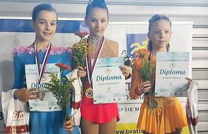 Юная одесситка победила на международном турнире по фигурному катанию