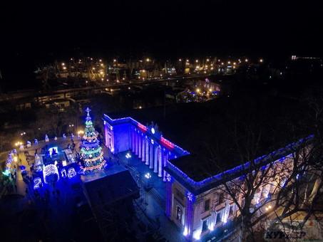 В Одессе готовятся к встрече Нового года