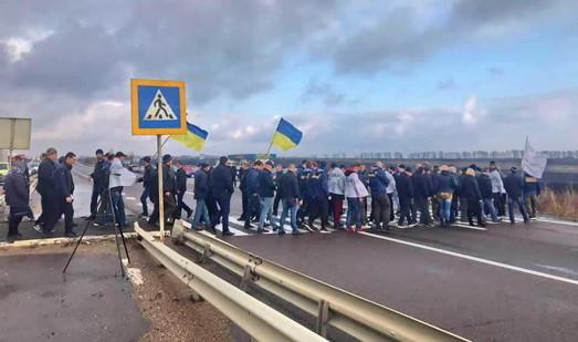 Аграрии Одесщины продолжают протесты против земельной реформы