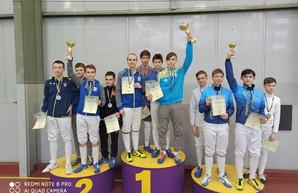 Одесситы победили на чемпионате Украины по фехтованию