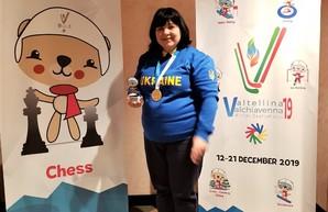 Одесситка завоевала золото Дефлимпийских игр