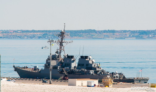 В одесский порт зашёл ракетный эсминец США